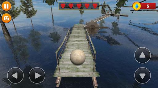 Code Triche Balancer Ball 3D: Rolling Escape  APK MOD (Astuce) screenshots 6