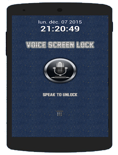 Voice Screen Lock - Locker