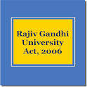 Rajiv Gandhi UniversityAct2006 icon