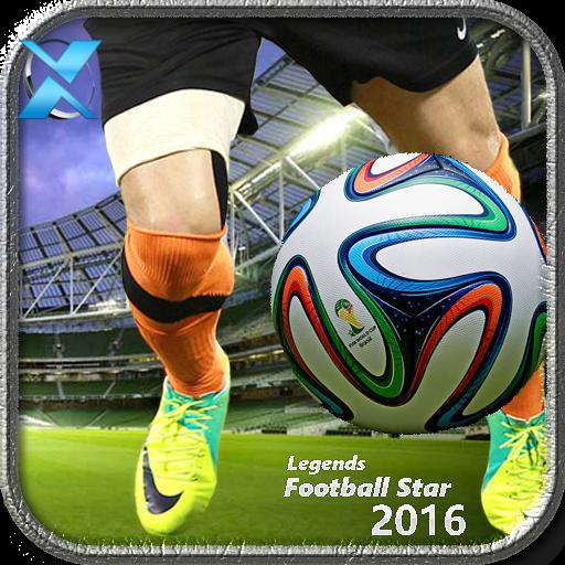 体育竞技の伝説:サッカースター2016 LOGO-HotApp4Game