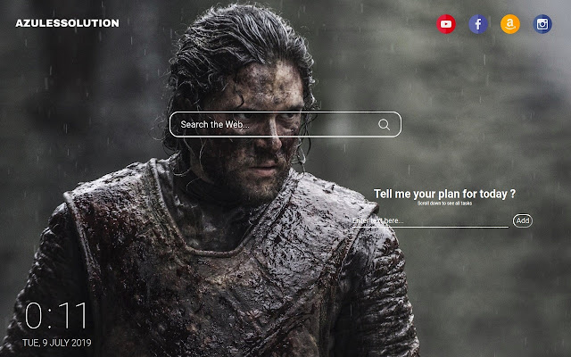 Game of Thrones Wallpaper - New Tab Theme