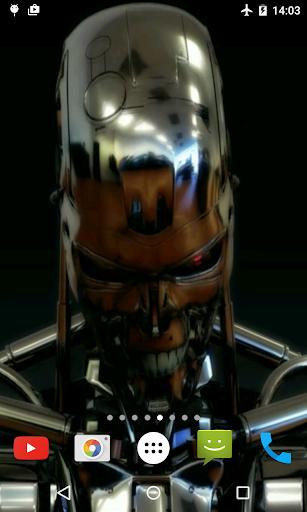 鉄のロボットライブ壁紙