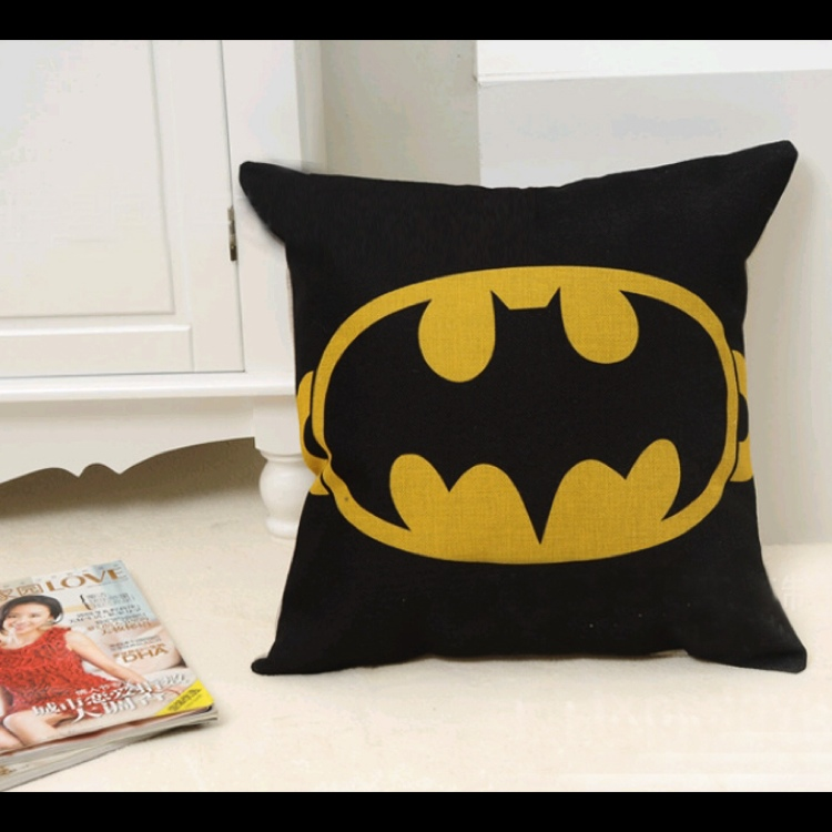 Batman Sofa Cushion Throw Pillow Case Cover BY Kerz Colors
