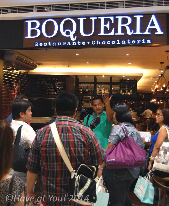 Boqueria storefront