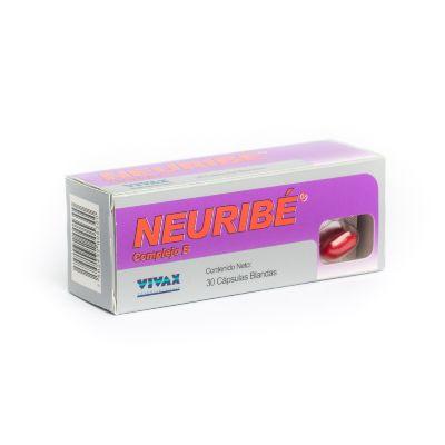 complejo b neuribe x 30 cápsulas blandas vivax x 30 cápsulas blandas