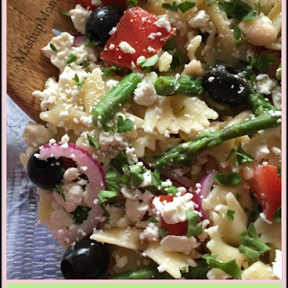 Pasta Salad with White Beans + Asparagus.