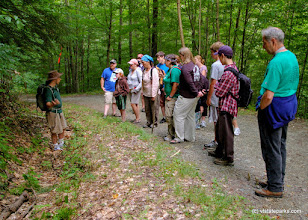 Photo: Park interpreter on Ghost Hike, Little River State Park by Jeff Gauthier