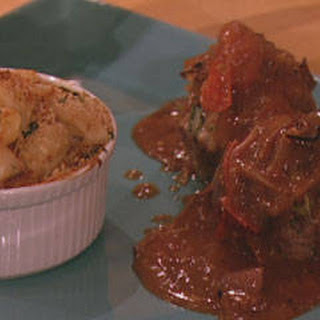 Mini Meatloaves with Tomato-Balsamic Gravy