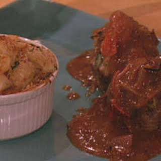 Mini Meatloaves with Tomato-Balsamic Gravy.