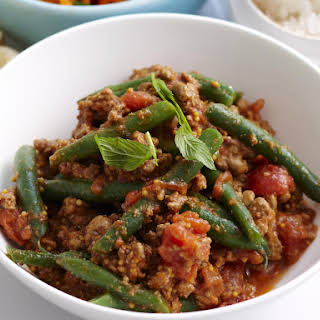 Indian Beef and Green Bean Curry.