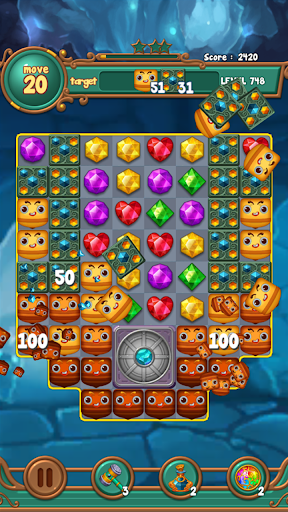 Jewels fantasy : match 3 puzzle 1.0.34 4