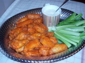 Authentic Buffalo Wings Recipe