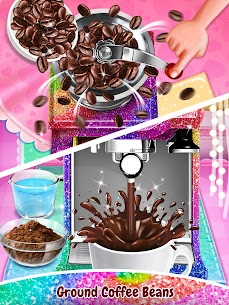 Glitter Coffee – Make The Most Trendy Food 1