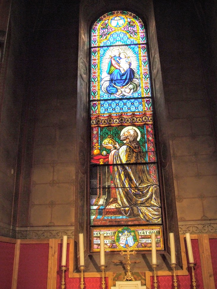 Pannonhalma - Bencés Főapátság Szent Márton Bazilika belső tere