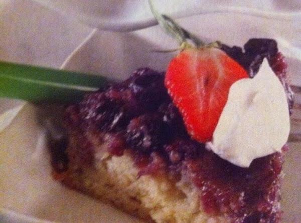 Blueberry Upside-down Cake Recipe