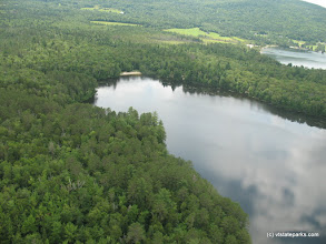 Photo: Overhead view of Brighton State Park