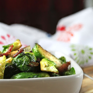Bourbon Bacon Brussels Sprouts