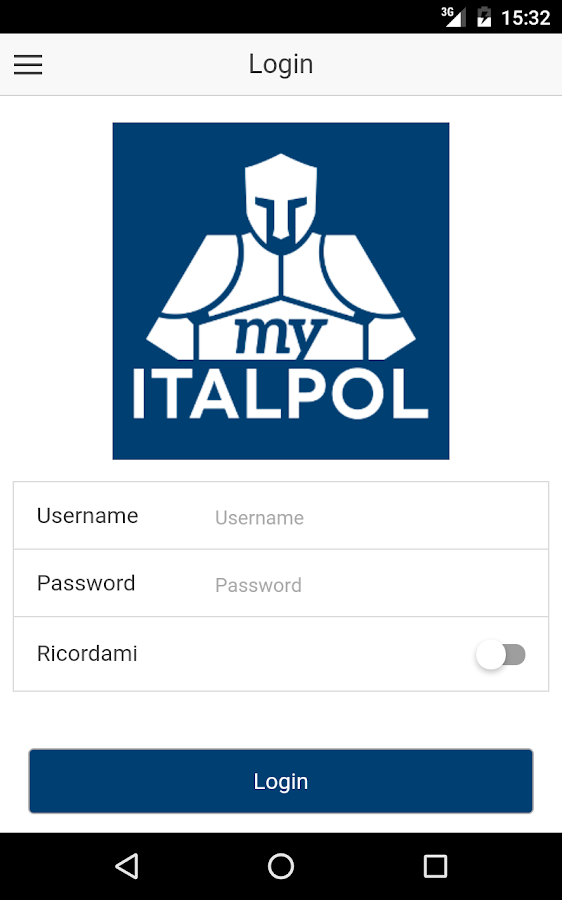 MyItalpol- screenshot