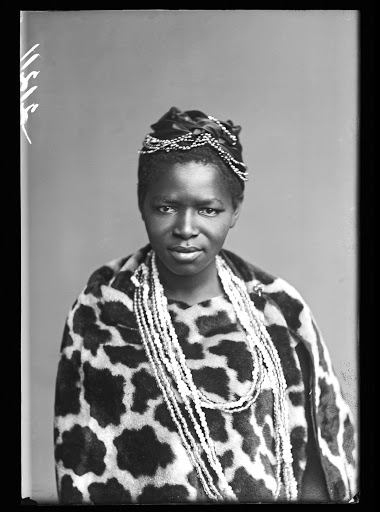 Rediscovered: Human rights activist Charlotte Maxeke was photographed in London during the African Choir's tour of the UK from 1891 to 1893. Picture: SUPPLIED