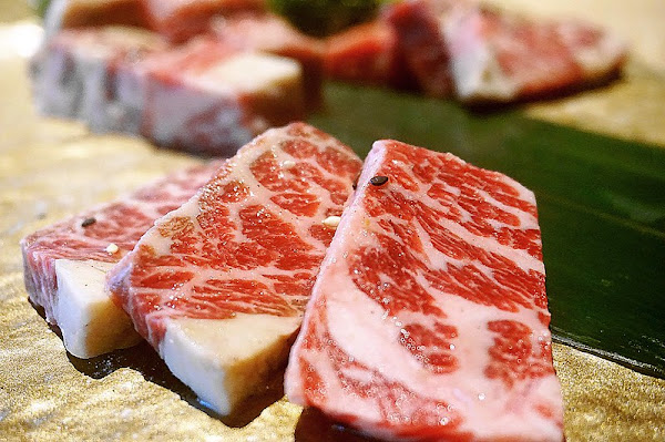 紅巢燒肉工房公益旗艦店◎精緻日式燒肉藝術。質感裝潢。服務加分。份量滿足
