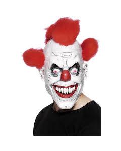 Mask, Clown rött hår