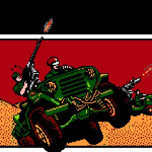 Super Jacckal Jeep : Top Gunner