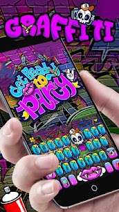 Party Graffiti Keyboard Theme 2