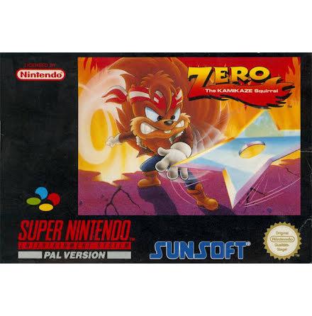 Zero the Kamikaze Squirrel