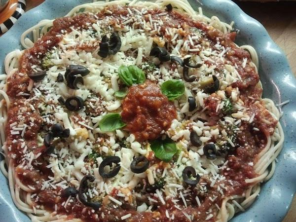 Left Over Pasta Pie Recipe