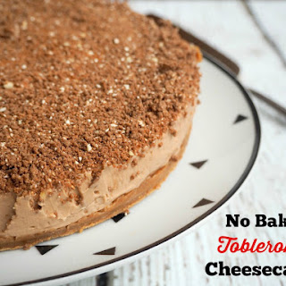 Toblerone Cheesecake Baked Recipes.