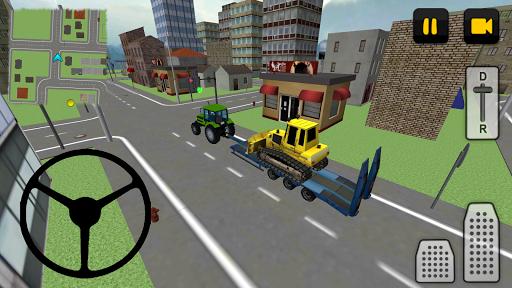 Tractor Driver 3D: City