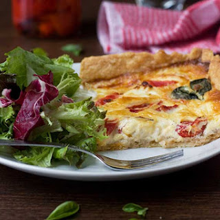 Roasted Red Pepper Quiche Recipes