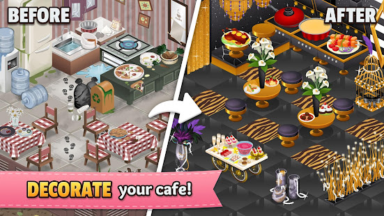 Cafeland World Kitchen V2 0 28 Mod Unlimited Money Apk Android