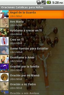 Oraciones Católicas para Niños - screenshot thumbnail