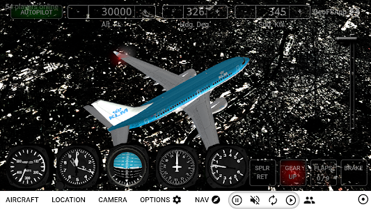 Download GeoFS - Flight Simulator APK latest version 1 6 13 for android  devices