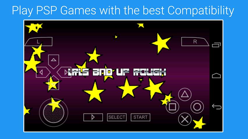android P4SP (emu 4 psp) Screenshot 2