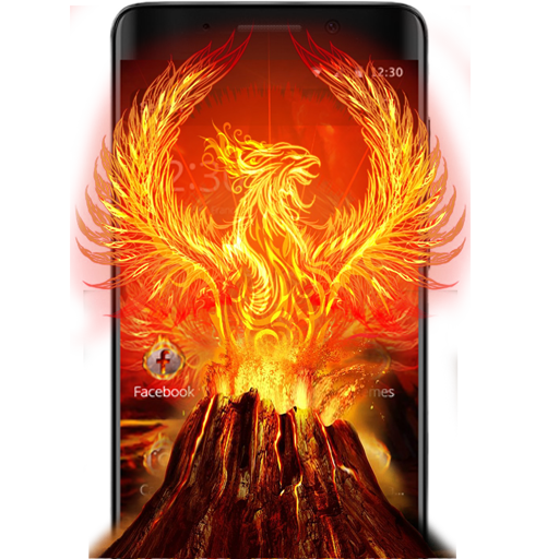 Flame Fire Phoenix Theme Android APK Download Free By Fantastic Design