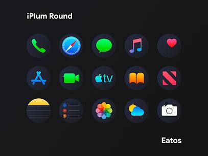 iPlum – Round Icon Pack (MOD, Paid) v2.0 4