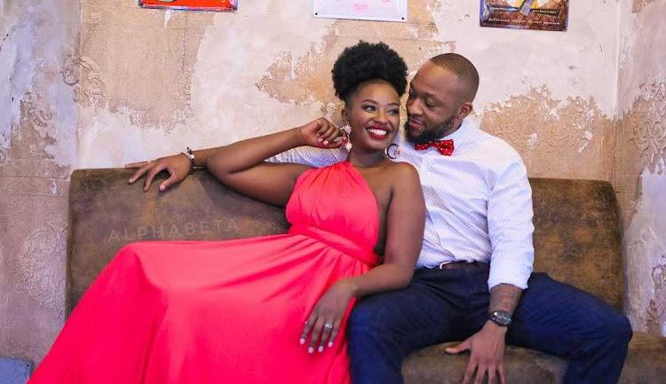 Ex-couple Maureen Waititu and Frankie