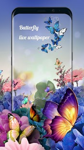 Dancing Butterfly Wallpaper - náhled