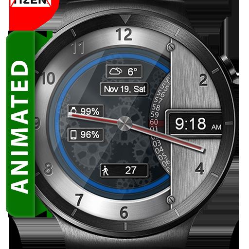 Metal Gears HD Watch Face & Clock Widget