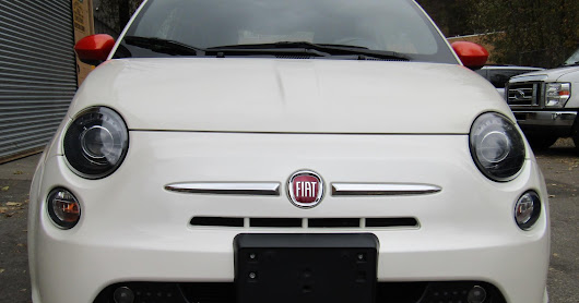 2015 Fiat 500E Electric Sport Panorama