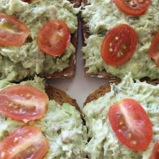 Avocado Tuna Salad Toast