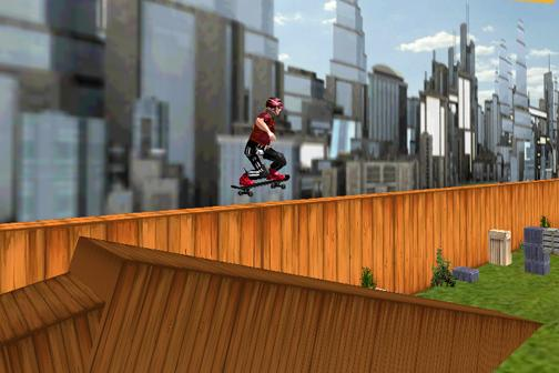 3D Skateboard Skater Free- screenshot