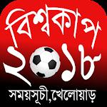 বিশ্বকাপ ফুটবল ২০১৮ সময়সূচি (দল,খেলো� 1.3