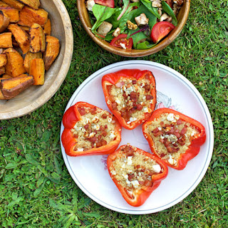 Couscous Stuffed Peppers Cheese Recipes