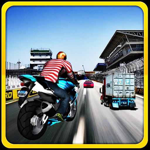 City Moto Racer 2015 賽車遊戲 App LOGO-APP開箱王