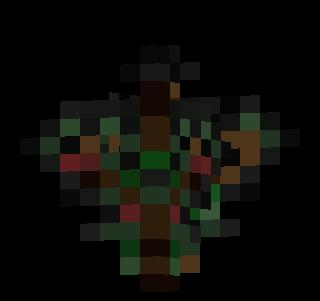 A darker spruce sapling.