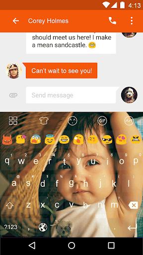 Emoji Keyboard-Hat Baby