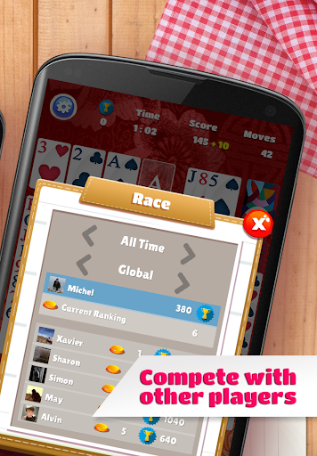 Solitaire 2.31 screenshots 8